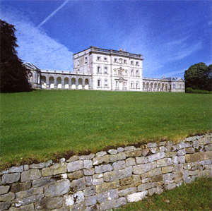Florence Court House and Gardens are one of the National Trust's finest properties in Northern Ireland : the Palladian House is open to the Public with guided tours : the gardens regularly host events and have tea rooms for visitors