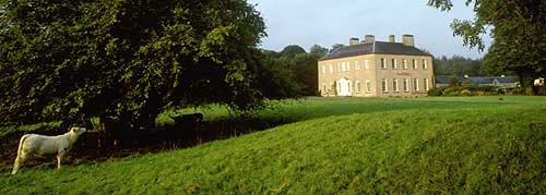 Enniscoe House offers guests Luxury Country House style accommodation in County Mayo, Ireland : there is luxury Bed and Breakfast accommodation in the house itself or charming self catering accommodation in cottages within the estate : beautifully restored Gardens and Heritage Centre on site