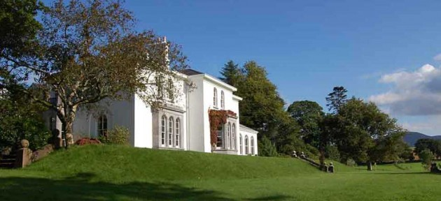 Killarney Mansion House available for Whole House Rental or for Bed and Breakfast guests : A beautiful Irish Manor House which can be rented in its entirety for a memorable Vacation in County Kerry, Ireland